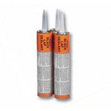 10 tubes - 10 oz  BLACK Roofing Elastomeric Rubber Lap CAULK